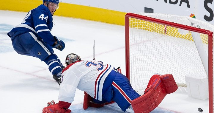 Toronto Maple Leafs beat Montreal Canadiens 5-4 in season opener